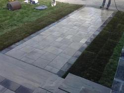 Patio Stone Walkway